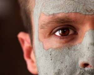 care facial man skin