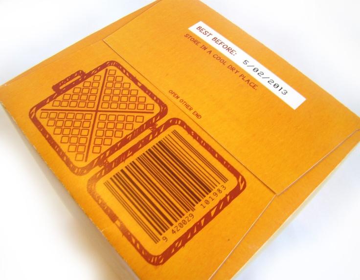 Creative Barcode Design // Fast Moving Consumer Good Design // by Maha Elmadani