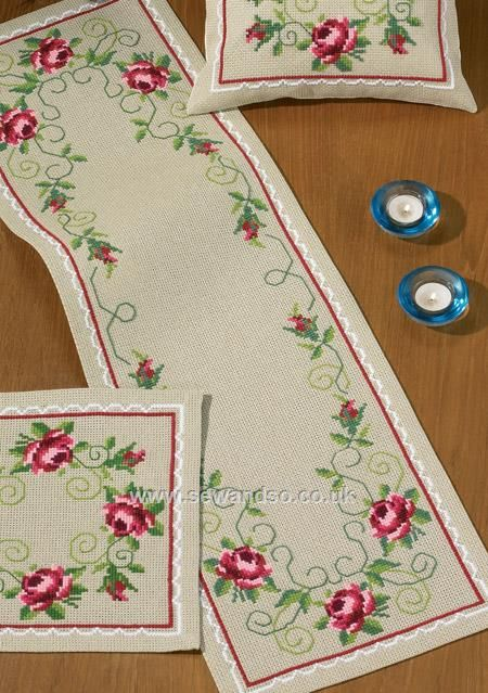 Shop online for In Full Bloom Table Runner Cross Stitch Kit at sewandso.co.uk. Browse our great range of cross stitch and needlecraft products, in stock, with great prices and fast delivery.