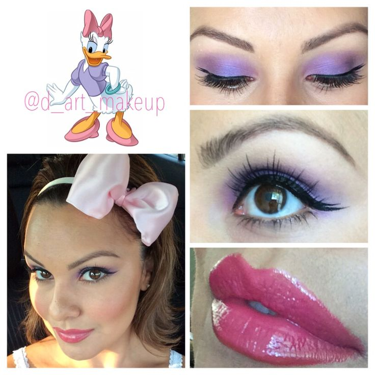Daisy Duck look for Dapper Day.