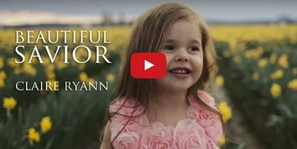 """Not only does Claire Ryann get millions of hits on her YouTube videos and land spots on shows with Ellen DeGeneres and Steve Harvey, she also has a beautiful testimony she shares through music. Check out this incredible video of Claire Ryann singing """"Beautiful Savior."""""""
