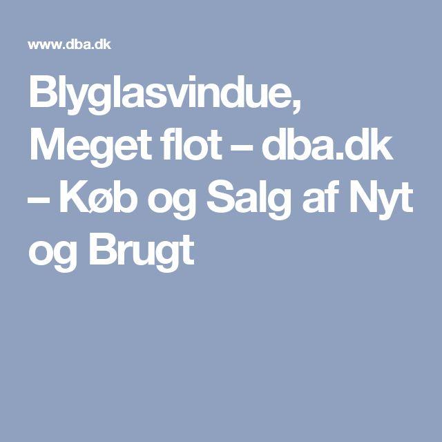 Blyglasvindue, Meget flot – dba.dk – Køb og Salg af Nyt og Brugt