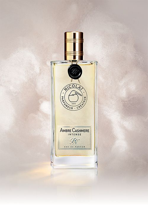 Ambre Cashmere Intense, eau-de-parfum, by Patricia de Nicolai: gorgeous and harmonious ambre creation, with iris butter