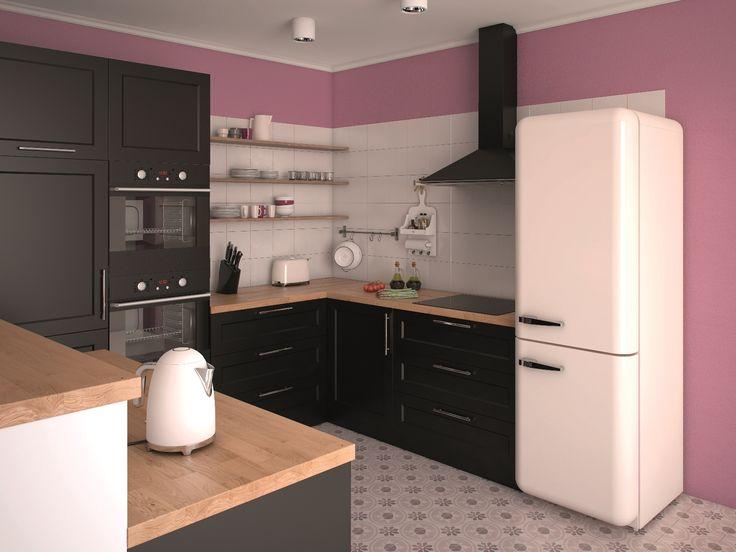 Co powiecie na kuchnię w kolorach ciasta ze śliwkami? Z farbami Beckers Designer Kitchen& Bathroom nic nie zepsuje jej smaku! Bon apetit ;)