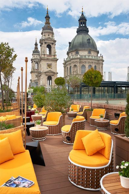 Rooftop bar at Aria Hotel, #Budapest #Hungary
