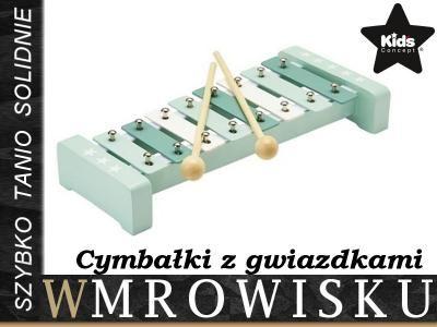 Kup teraz na allegro.pl za 69,00 zł - Kids Concept Zielone Cymbałki W Gwiazdki 222538 (5991476728). Allegro.pl - Radość zakupów i bezpieczeństwo dzięki Programowi Ochrony Kupujących!