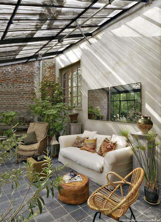 7 id es d co originales pour profiter des beaux jours for Deco pour veranda
