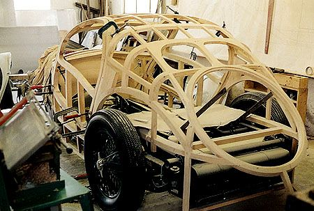 chassis voiture