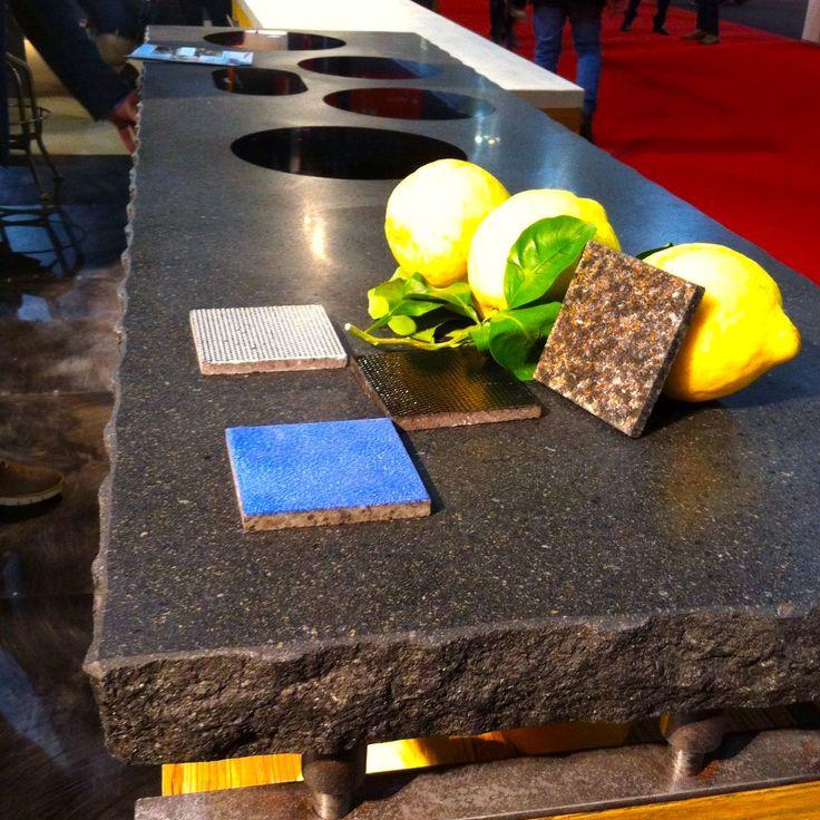 La #Sicilia è una forza della natura. E i suoi migliori frutti sono arrivati al Salone del #Mobile di #Milano. Il #giallo dei limoni, il #nero della pietra lavica: http://pietracolata.com/pietracolata-salone-del-mobile/