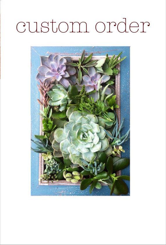 Succulent Wall Art best 25+ vertical succulent gardens ideas on pinterest | succulent
