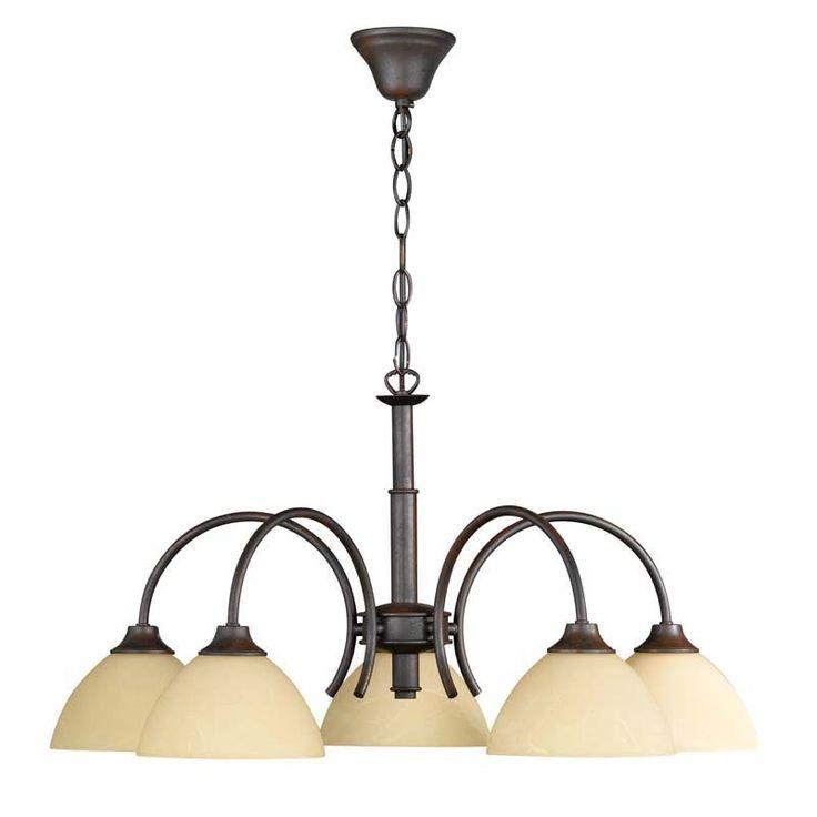 Diese elegante rostfarbene #Hängeleuchte Classica aus dem Hause Honsel fügt sich in jedem Stil ihrer Wohneinrichtung ein. Ob modern oder klassisch, sie verleiht ihrem Wohnraum ein individuelles Erscheinungsbild!    #wohnen #Lampen #wohnideen #einrichten #Lampensale