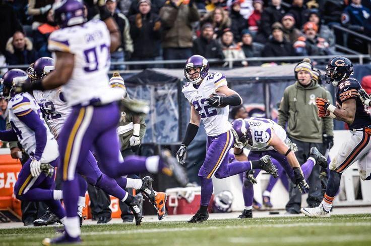 Minnesota Vikings Harrison Smith interception soldier Field
