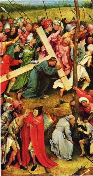 Христос несущий крест, 1485 - 1490 - Иероним Босх - WikiArt.org
