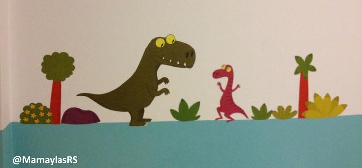 15 best tiranosaurio rex images on pinterest - Decoracion habitacion ninos ...