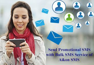 Bulk SMS can be used by business people, community members, marketing companies, or anyone wishing to communicate with a large crowd of people.  Bulk SMS service permits you to measure the effect of your sent messages, you can track your sending reports and if you consist a link, you can measure the quantities of hits and/or sales the SMS led to.   For more info Visit:     https://aikonsms.co.in