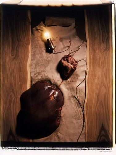 Helen Chadwick, Meat Abstract No. 5: Heart of Liver, 1989
