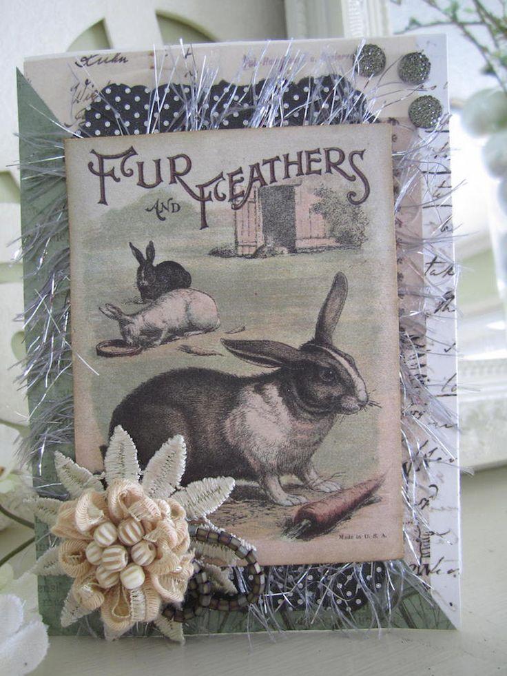 RESERVED FOR MM Handmade Easter Card Easter by AvantCarde ...