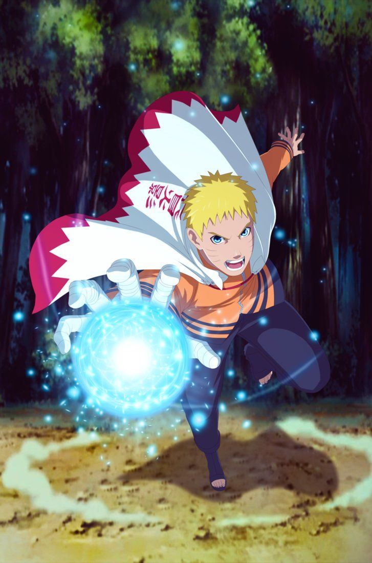 Naruto Seventh Hokage by GEVDANO