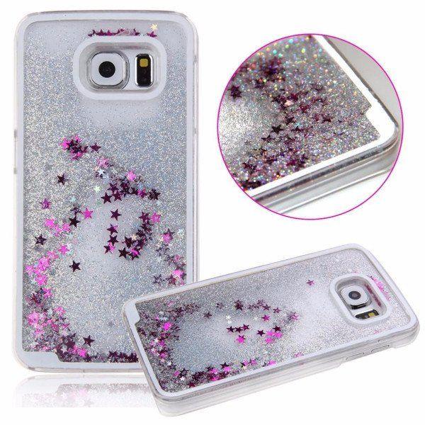 Silver Glitter Quicksand Case for Samsung Galaxy S6 S 6