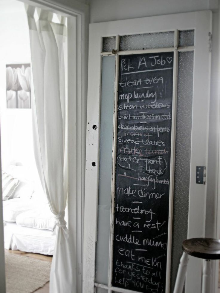 Best 20+ Chalkboard paint doors ideas on Pinterest\u2014no signup required | Chalkboard pantry doors Chalkboard doors and Chalkboard paint kitchen & Best 20+ Chalkboard paint doors ideas on Pinterest\u2014no signup ... Pezcame.Com