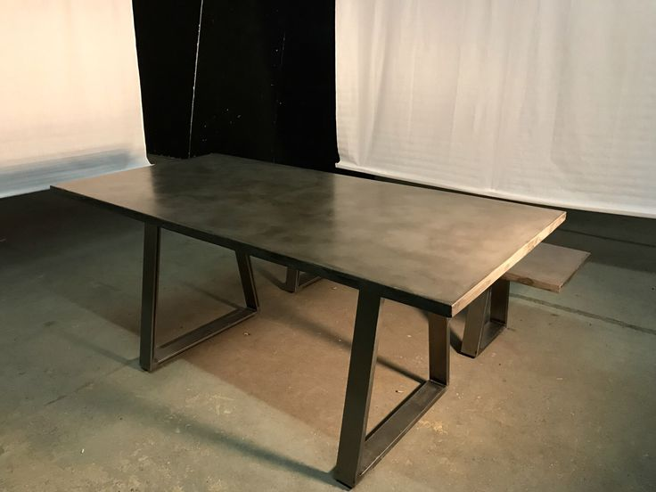 Diy Polished Concrete Dining Table: 78+ Ideas About Concrete Dining Table On Pinterest