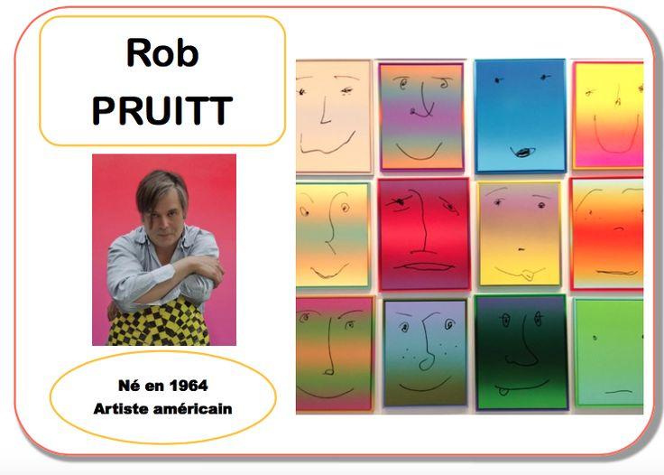 Je clôture l'année avec les deux derniers artistes travaillés par les collègues. Je viens de voir le travail de Marie-Pierre C à partir de mes affiches et ce partage amène toujours que du meilleur. Alors voilà Pruitt et ses émotions et Modigliani avec...