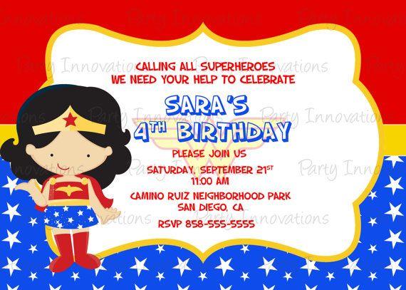 63 Best Wonder Woman Birthday Party Images On Pinterest Wonder