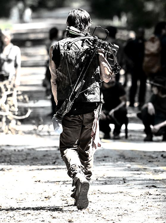 Daryl Dixon from The Walking Dead. I didn't need to say that, you knew already