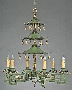 Eastern Court Chandelier from www.wellappointedhouse.com