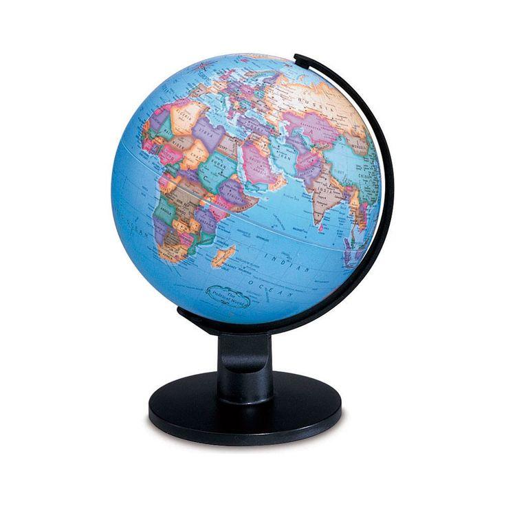 45 best desktop globes images on pinterest world globes desk desktop globe add a colorful and fascinating accessory to your desktop or shelf with the replogle trekker diam gumiabroncs Images