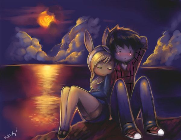 Marshall Lee x Fiona: Dont Leave Me. by kankitsuru.deviantart.com on @deviantART