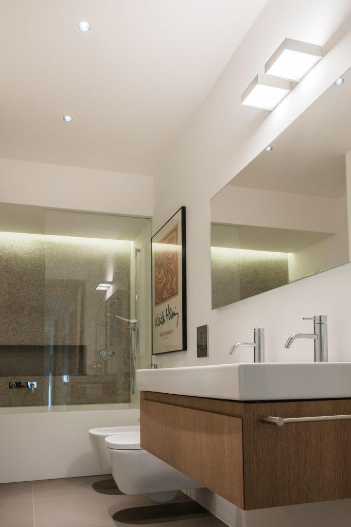 49 best bathroom light fixtures images on pinterest bathroom light abitazione privata milano hi lite next interior lighting design fixtures davide mozeypictures Choice Image