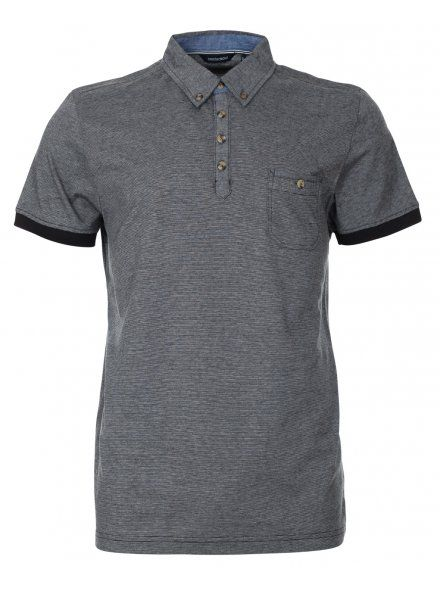 Twisted Soul Casual Grey Polo Shirt