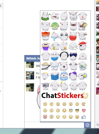 How To: Send Facebook Stickers from Computer
