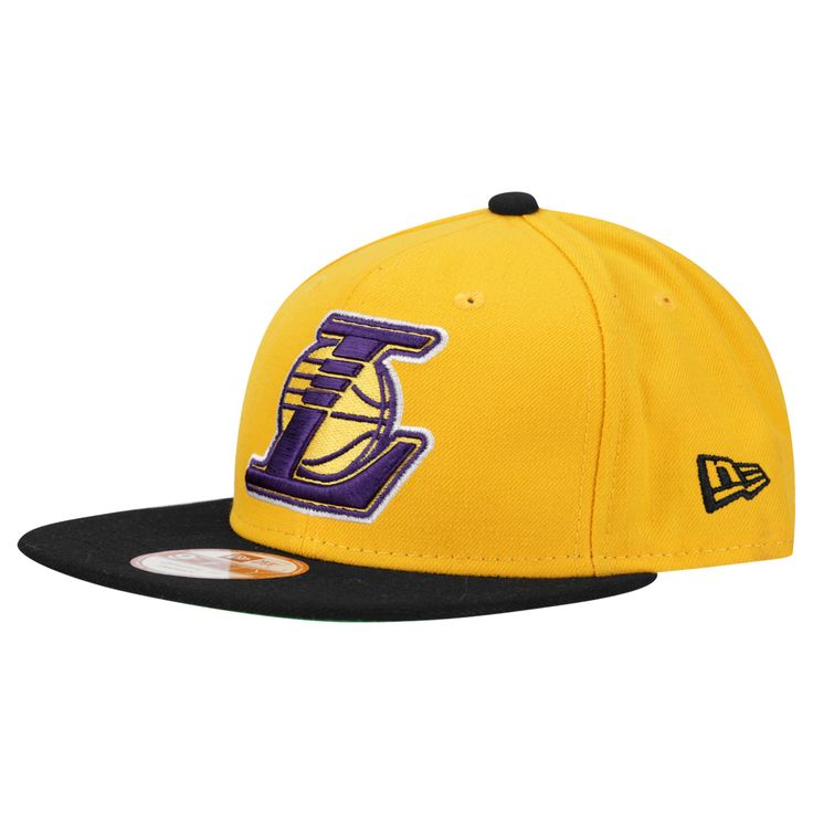 Boné New Era 950 Of Sn NBA Two Tone Los Angeles Lakers Amarelo e Preto | Netshoes