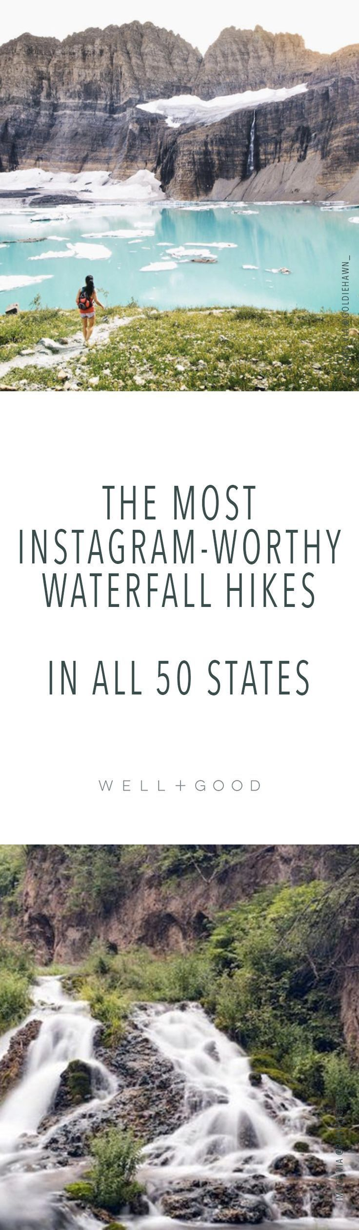 The best waterfall hikes in all 50 states