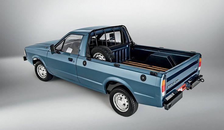 Ford Pampa 4x4: valentia às pampas
