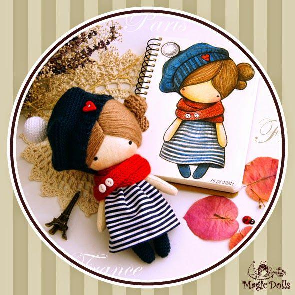 magicdolls: Crochet dolls Ma Petite Poupee - France