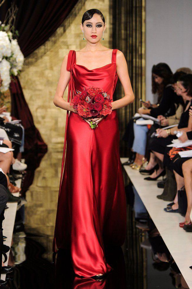 Robe de mariée rouge Theia / Red Wedding Dress Theia