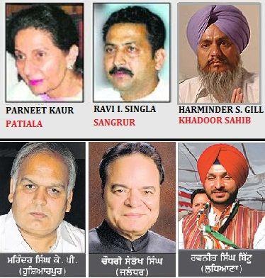 Punjab: Complete list of Congress candidates for Lok Sabha Elections 2014 - http://www.sikhsiyasat.net/2014/03/30/punjab-complete-list-of-congress-candidates-for-lok-sabha-elections-2014/