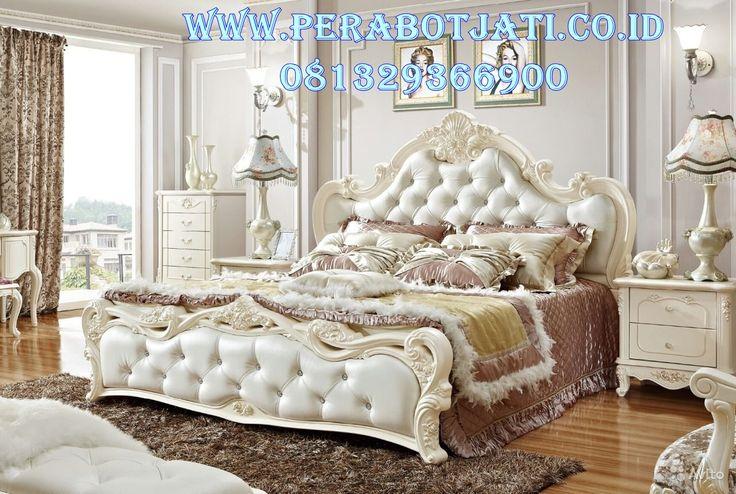 Set Ranjang Tidur Minimalis Untuk Kamar Mewah Ukir