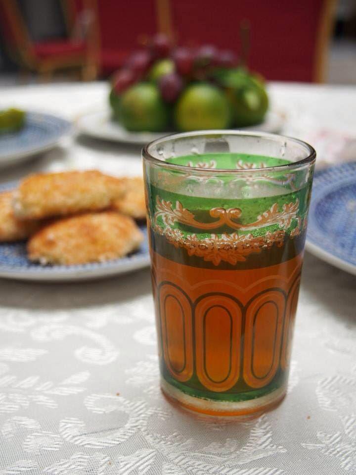 mint tea - Morocco
