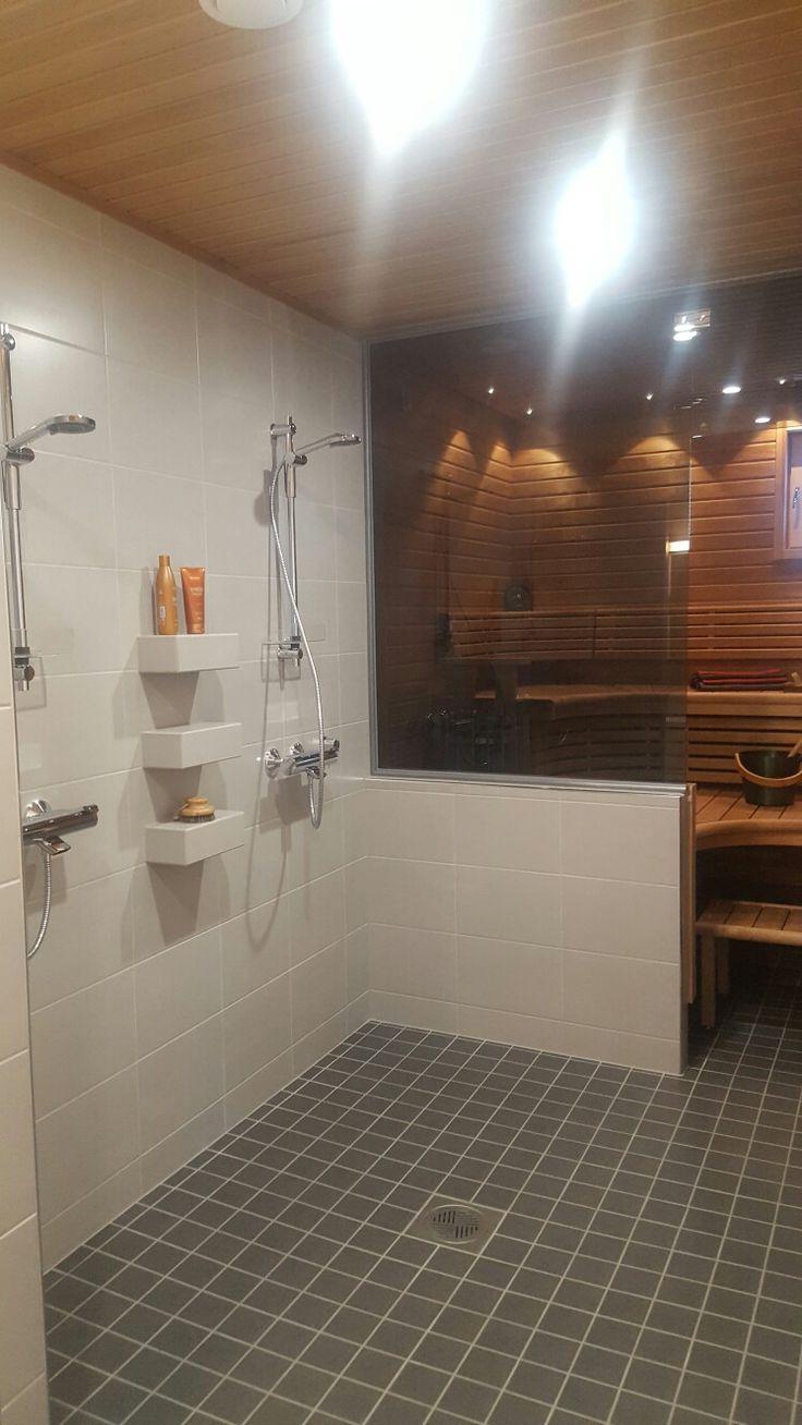 Seinäjoen asuntomessut 2016 // kylpyhuone ja sauna