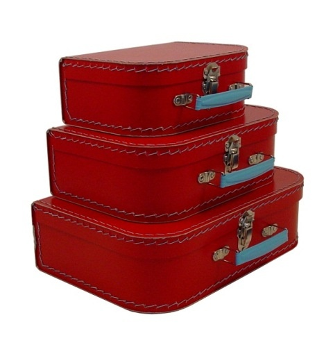Not sure why but I love vintage looking stacking suitcases