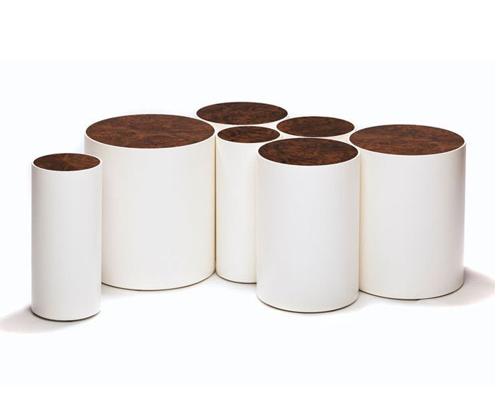 DRUM TABLES by Peter Sandback | DSHOP http://shop.thedpages.com/products/drum-table-small-1