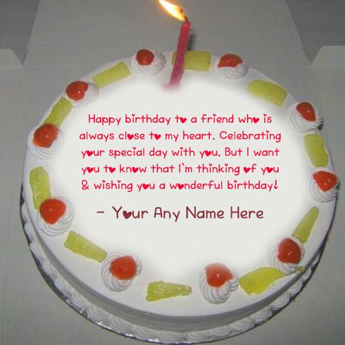 Greeting Birthday Candles Cake Name Wishes Image Online Happy With Beautiful Quotes Photo Edit HBD Cakes