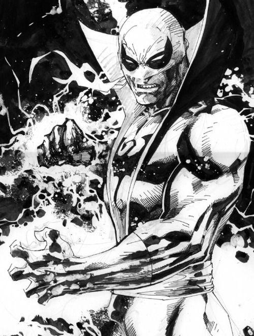 The iron fist marvel that big