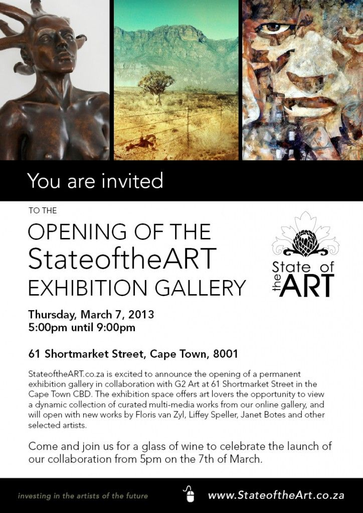 StateoftheART 'in the cloud' Gallery Open Earth-Bound Exhibition Space