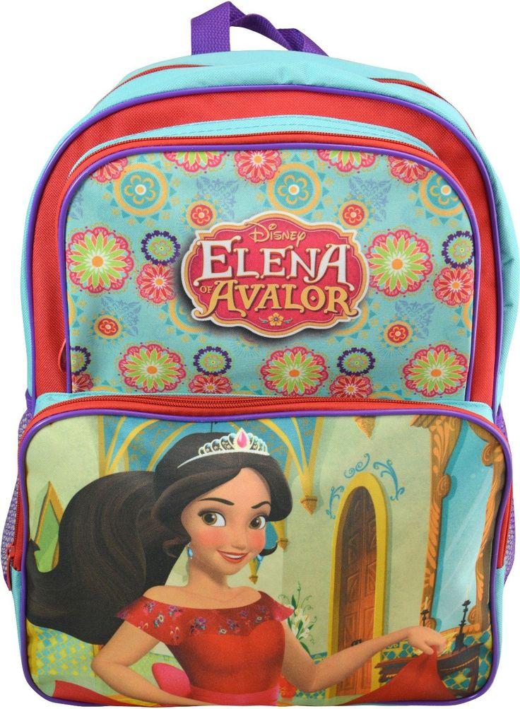 "Wholesale Backpacks Disney Princess Elena 16"" Cargo Backpacks - 48 Units"