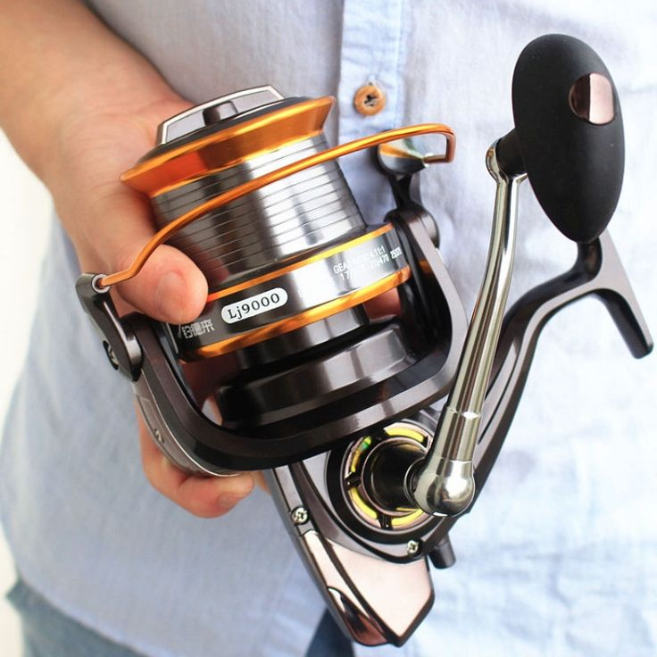 22.99$  Watch here - http://alivlg.shopchina.info/go.php?t=32785272255 - 9000 Size 12+1 Ball Bearings Big Trolling Fishing Reels Feeder Carp Metal Fishing Reel Carp Carretilha de pesca molinete Shimano  #bestbuy